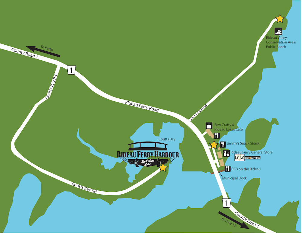 Rideau Ferry Harbour   We Are Ideally Situated